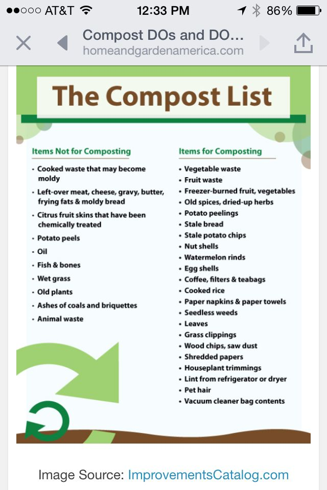 Compost Do S Amp Don Ts Composting Garden Compost How