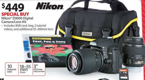 21 best nikon d3000 images on pinterest nikon d3000 camera and black friday ads nikon mp digital cameralens kit w card bag 2 tutorial videos and additiona lens at walmart fandeluxe Image collections