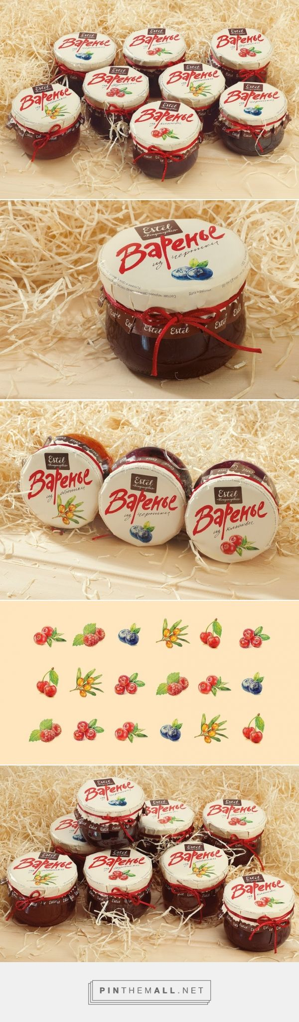 Estel Confectionery Jam - Packaging of the World - Creative Package Design Gallery - http://www.packagingoftheworld.com/2016/02/estel-confectionery-jam.html