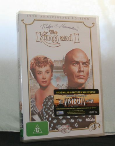 The-King-and-I-DVD-2-Disc-Set-50th-Anniversary-Edition-New-Region-4