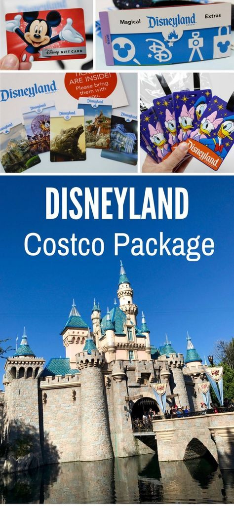 Disneyland Costco Package Deals--Check out all the items and extras included in the Costco Disneyland Travel package (these items are from our 2017 travel package).