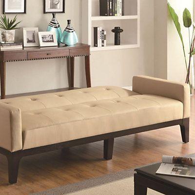 Good Olivia Tufted Sofa Bed In Cream   SmartFurniture.com   Smart Furniture