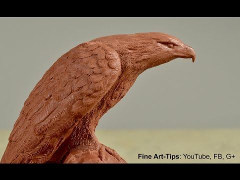 How to Sculpt an Eagle - How to Model an Eagle in Clay - Sculpture Tutorial by ArtistLeonardo - YouTube