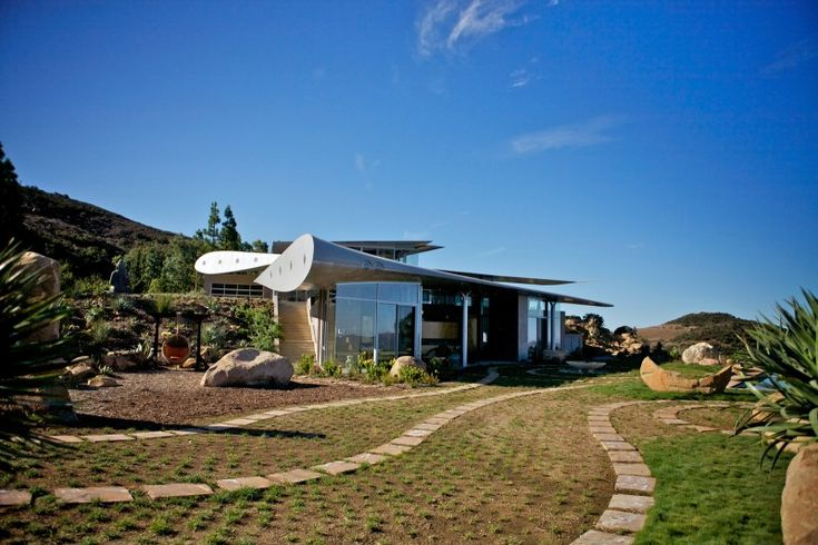 Wing #House by David Hertz #Architects and the Studio of Environmental Architecture