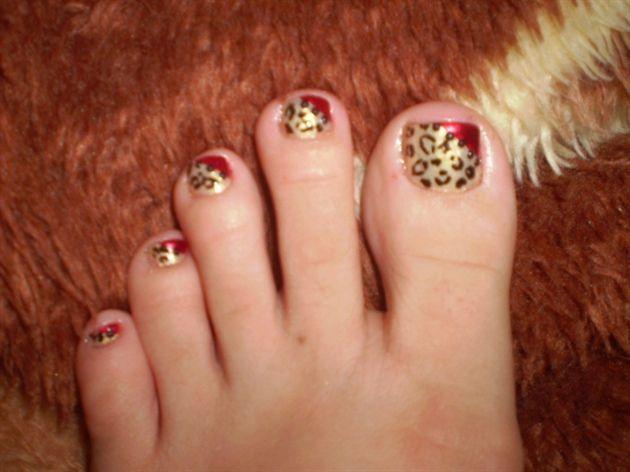 Kesha Tik Tok nails  by 07paty07 - Nail Art Gallery nailartgallery.nailsmag.com by Nails Magazine www.nailsmag.com #nailart