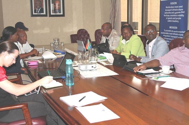 Gauteng Transport hosts the Cameroon Transport Delegation