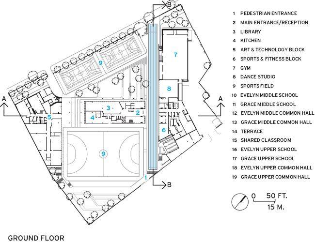 Evelyn Grace Academy Ground Level School Design