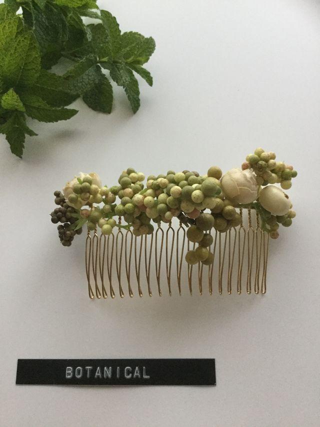 botanical hair comb | yaola