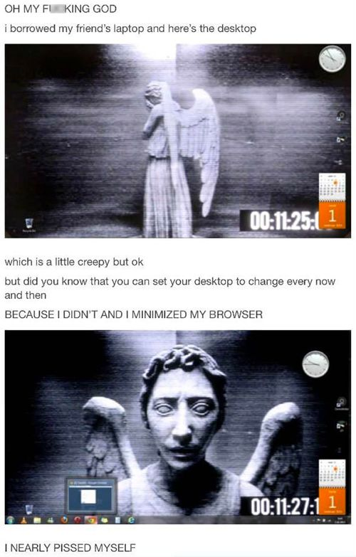 """Don't Blink """"The Weeping Angels"""" 