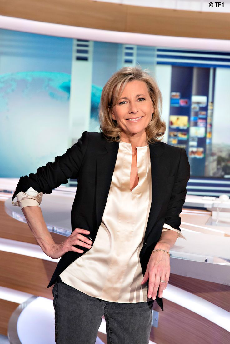 Claire Chazal French Fashion Role Model For 40 50 60