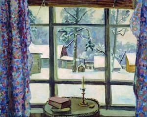 The window of the poet - Pyotr Konchalovsky