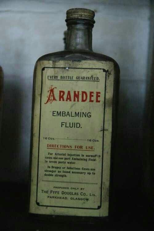 what does embalming fluid smell like