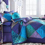 Seventeen crystal violet comforter set from jcpenney.com