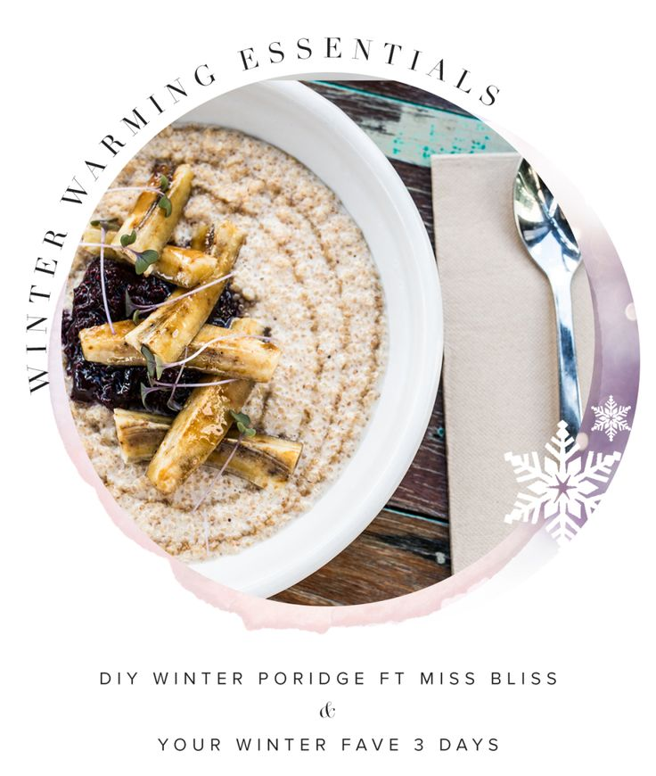 While we may be beating the heat here in Australia's summer, we are aware that some of our Mura girls world wide are rugging up around the fire as they face the chilly bite of Winter abroad! …  #muraboutique #blog #healthy #comfortfood #winter #porridge #food #yum #create #DIY