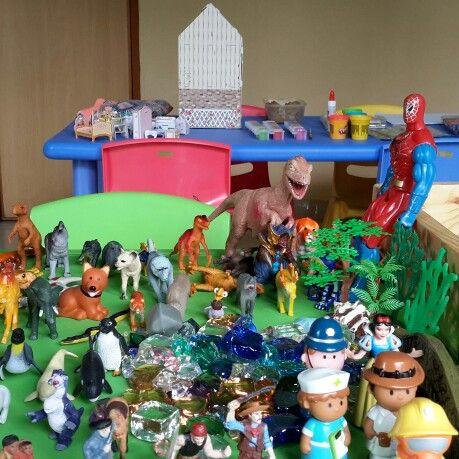 My Play Therapy room in Global Sevilla International School Pulomas, Jakarta Indonesia.