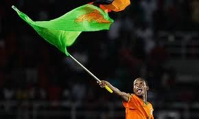 Zambia win the Africa Cup Of Nations Final against Ivory Coast. 2012.  Amazing achievement. Chipolopolo, go copper bullets !