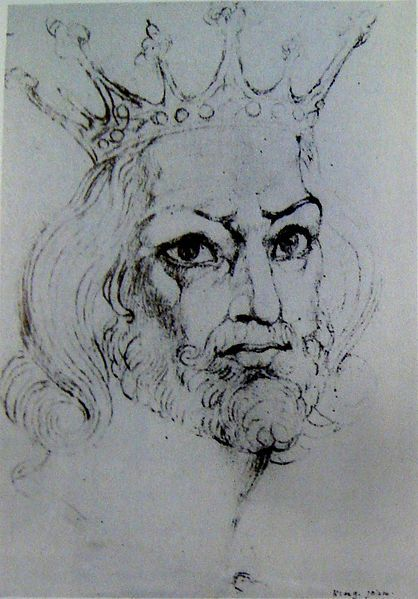 File:William Blake - King John, Butlin 731 c 1819-20 248x170mm - F Bailey Vanderhoef Jr - Ojai California.jpg
