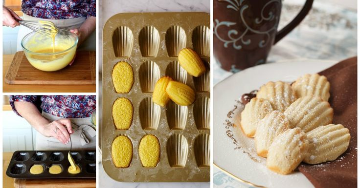Ecco una ricetta delle tradizionali madeleines. La loro dolcezza vi conquisterà al primo morso.