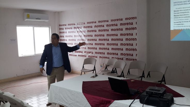 Ofrece Morena conferencia sobre la ley y derechos del trabajador | El Puntero