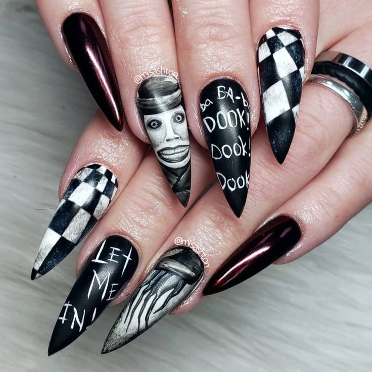 51 Trendy Witch Nail Art Designs For Halloween in 2020 ...