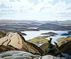 Franklin Carmichael (May 4, 1890 – October 24, 1945) was a Canadian artist. He was the youngest original member of the Group of Seven. Northern Tundra.