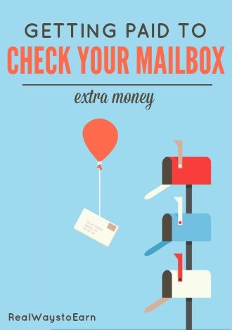 How you can earn extra money checking your mailbox every day. This is steady, easy extra money if you can get accepted by the company that pays people to do it.