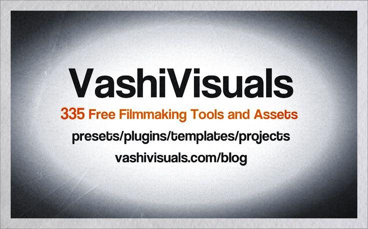 Vashi Visuals Free Tools