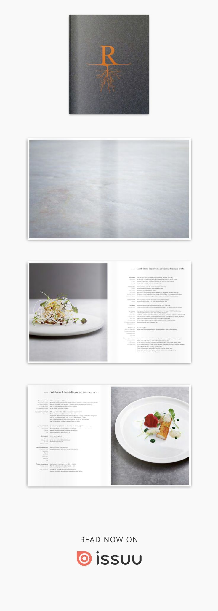"RONNY EMBORG The Wizard's Cookbook  Chef's Cook Book for Michelin Star Chef Ronny Emborg. Won the ""Gourmand Best Chef's Cookbook International 2014"" @ Graphic Design by Bonnelycke mdd 2013."