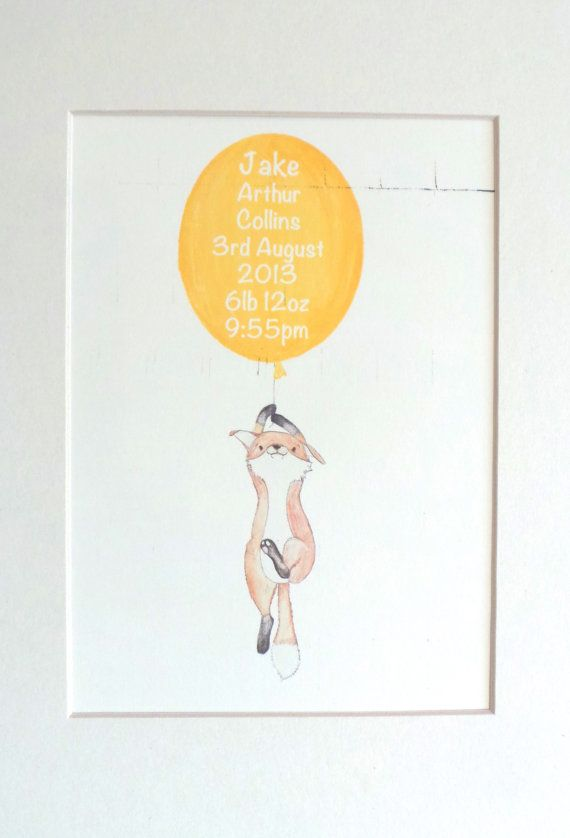 fox https://www.etsy.com/uk/listing/167126448/floating-fox-nursery-art-personalised?ref=listing-shop-header-0