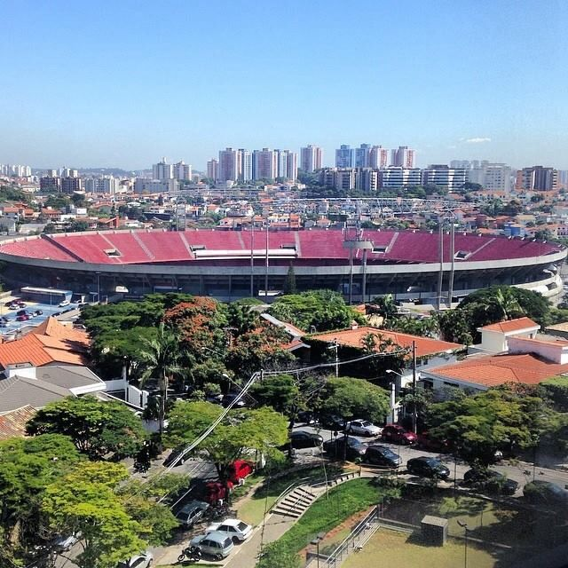 Completed in 1970, Morumbi stadium, originally built for 120.000 spectators, is still able to hold 67.000 seated audience. It's the largest privately owned stadium, home of São Paulo FC.