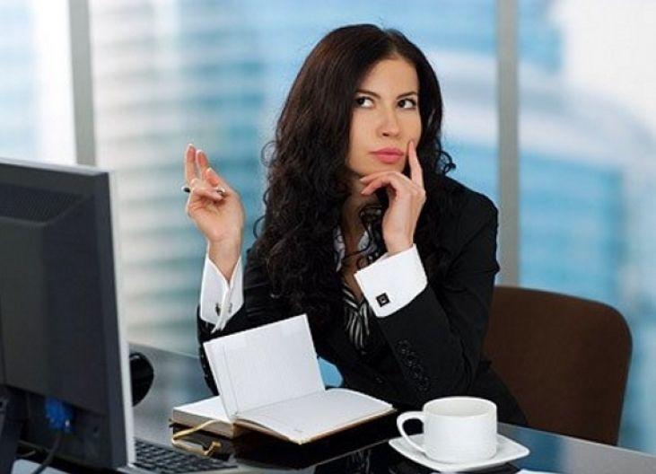 работа в офисе для девушки