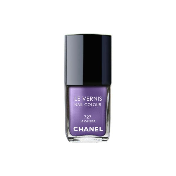 Chanel Le Vernis Nail Polish Lavanda No. 727 ($31) ❤ liked on Polyvore featuring…
