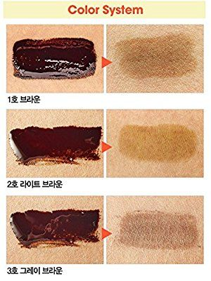 Etude House Tint My Brows Gel Eyebrow Long Lasting Liner, Brown, 0.5 Fluid Ounce