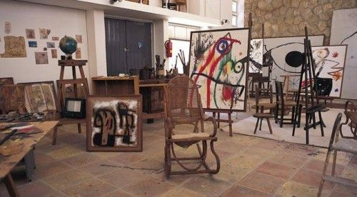 Atelier Joan Miro à Palma de Mallorca