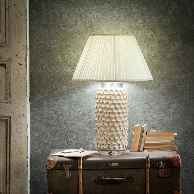 Lampa stołowa Sayaka ceramiczna 73cm, 73cm - Dekoria