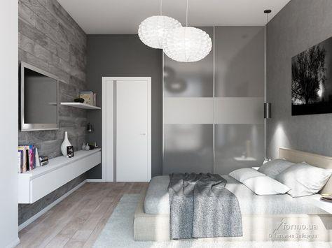 Квартира для холостяка, Татьяна Зайцева, Спальня, Дизайн интерьеров Formo.ua
