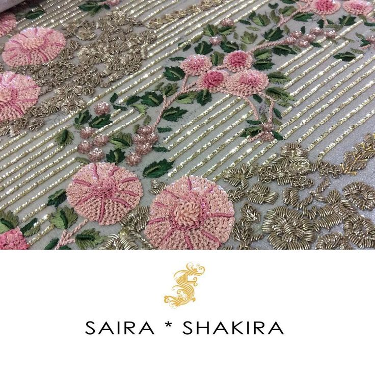 """Sneak a peek of #SairaShakira Bridals!! #Workmode #WorkinProgress…"
