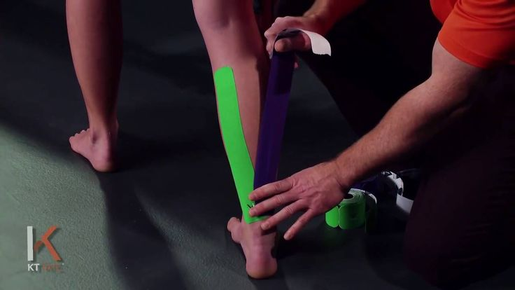 how to work inside calf muscle