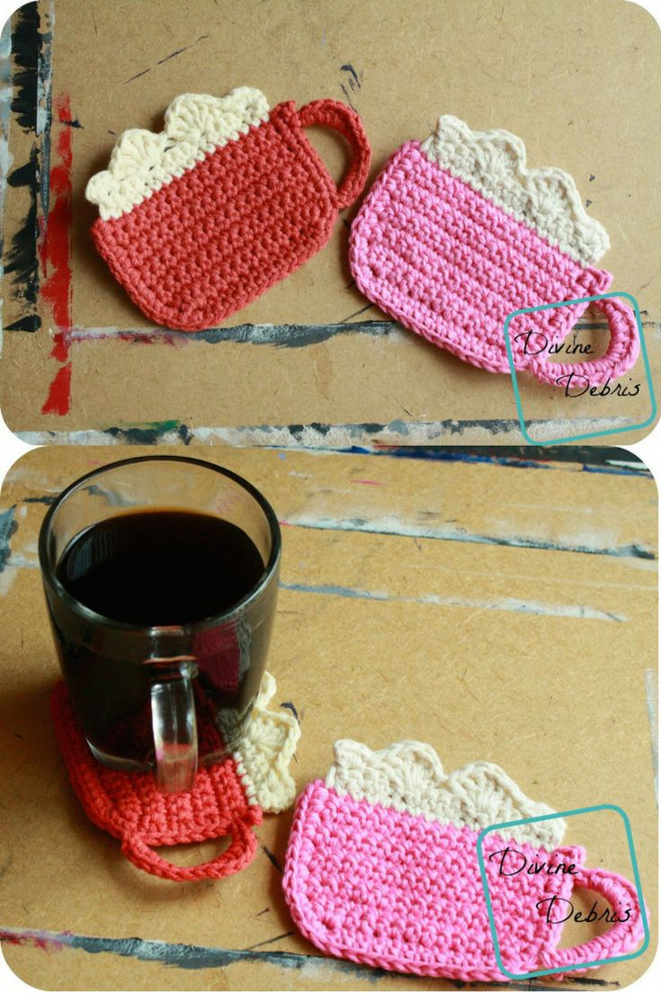 Mug of Cocoa crochet pattern by DivineDebris