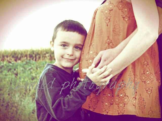 Big brother excited about baby brother coming soon! Pumpkin patch in beautiful Columbus, Ohio! #linkedphotography