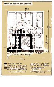 Planta del Palacio de Ctesifonte.