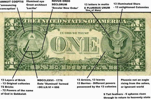 Freemasons and the dollar bill