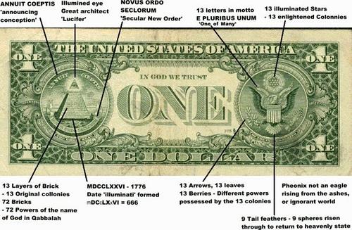 Freemasons and the dollar bill