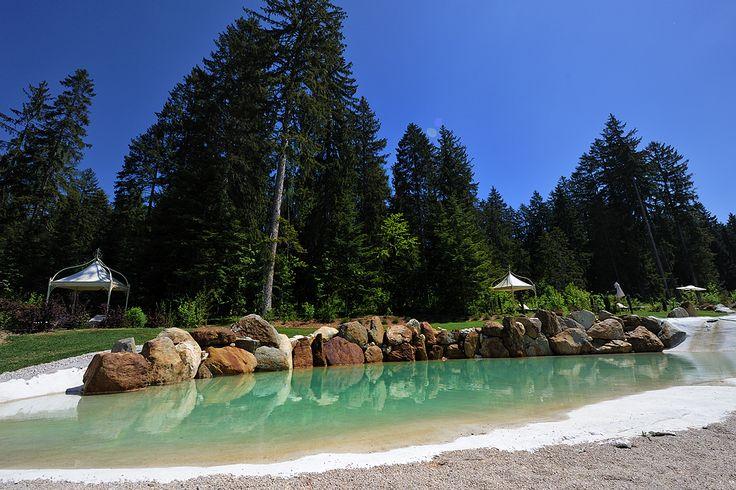 un lago balneabile nel parco di Villa Orso Grigio *****