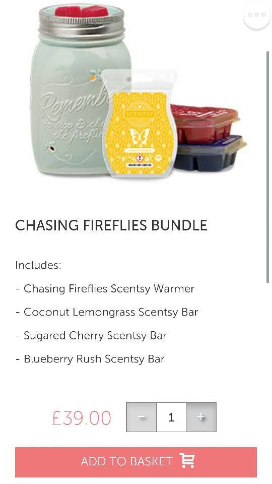 Hokey Pokey Warmer ~ Chasing fireflies warmer with pre selected bars