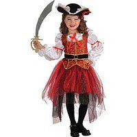 Princess of the Seas - Pirate - Niños Disfraz - Pequeño - 117 cm
