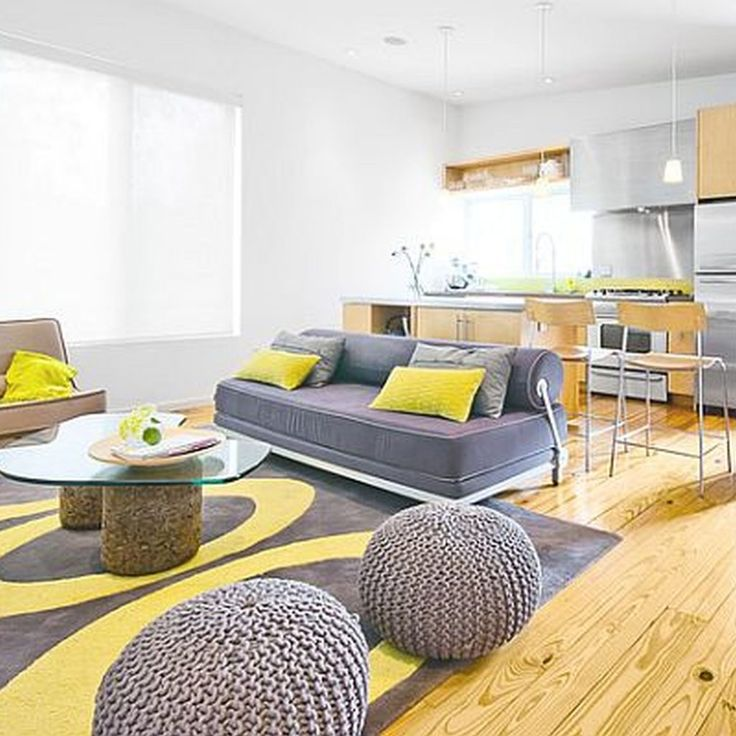 Grey And Yellow Living Room Furniture