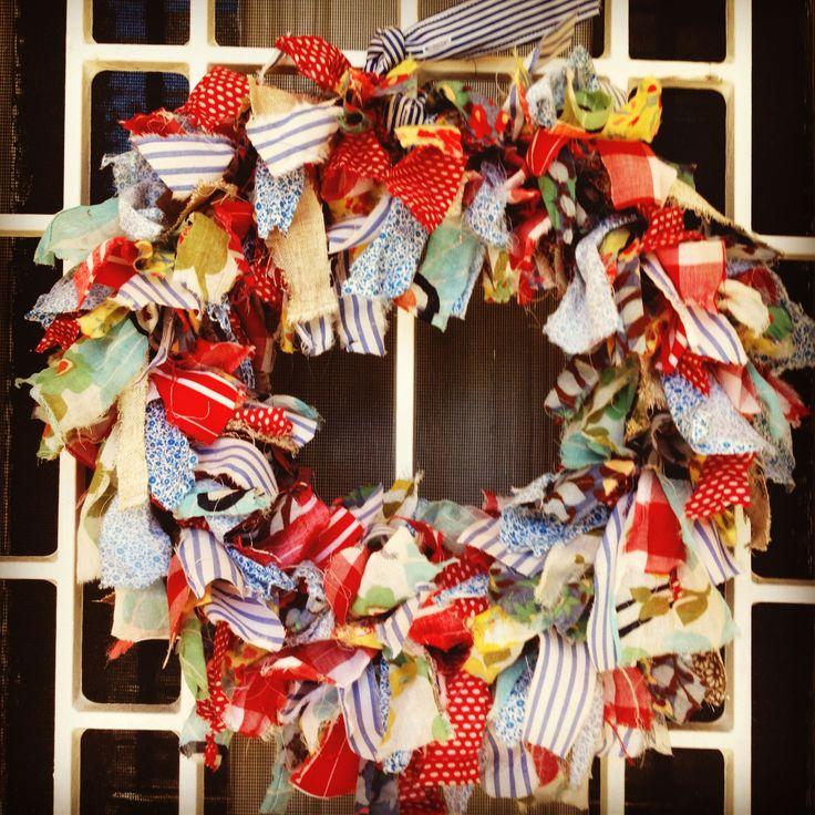 Mitty Malou Christmas wreath