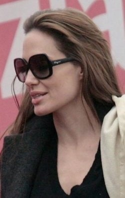 02a1e25a031 Images about angelina jolie wearing sunglasses jpg 250x395 Angelina jolie  who wears oliver peoples