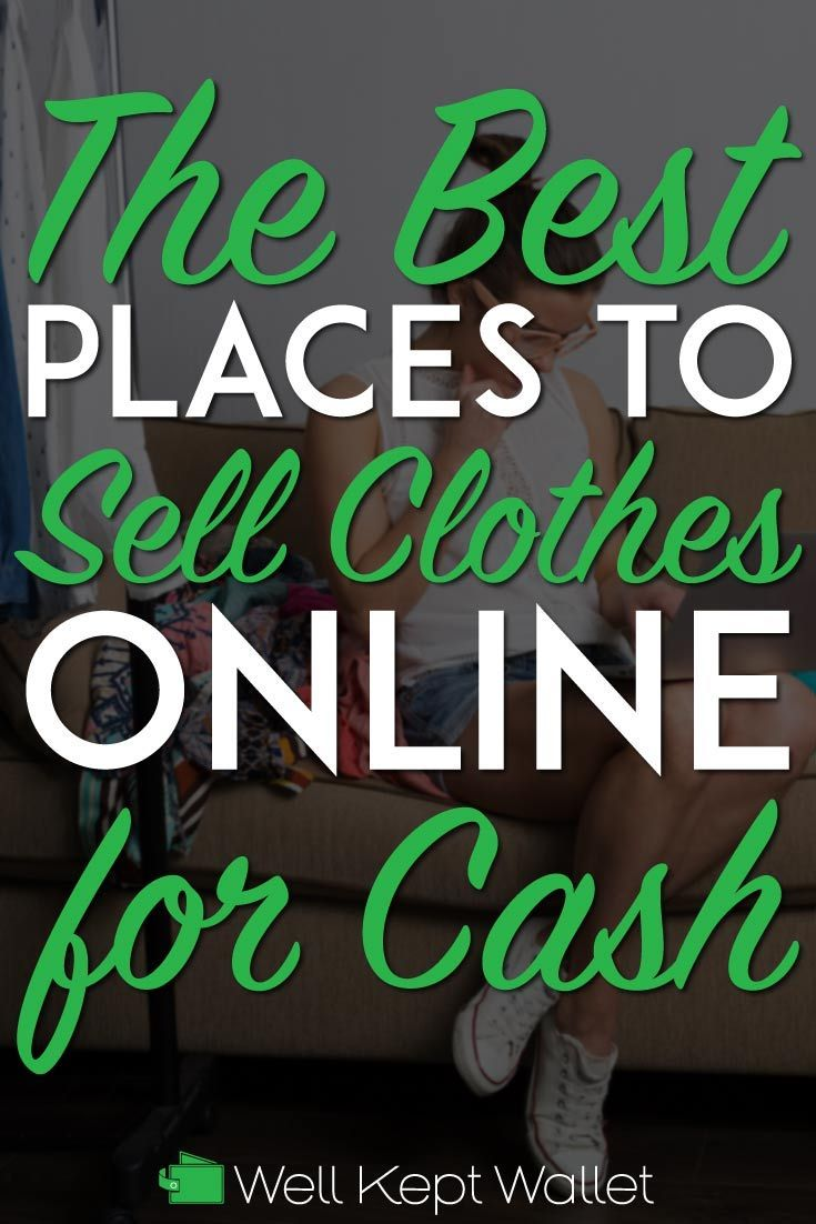 3c875859a43 We have found 24 of the best sites where you can sell your clothes for the